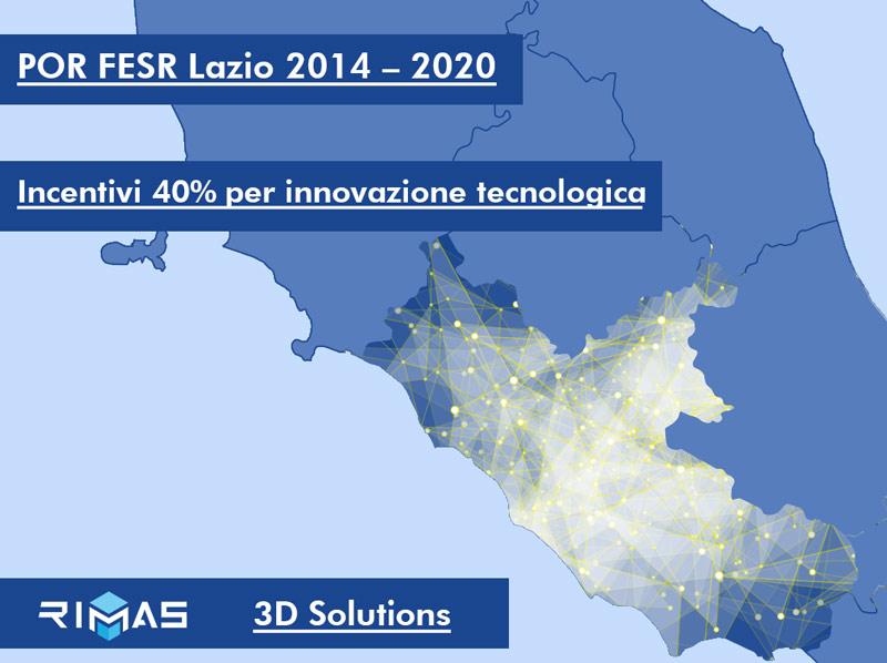 Incentivi POR-FESR Lazio