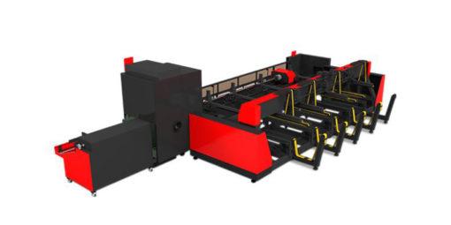 DNE Fiber laser tube cutter
